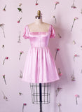 Be Mine Satin Dress