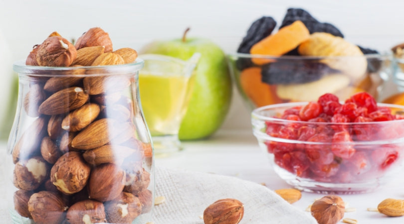 fruits and nuts healthy diet for menopausal women