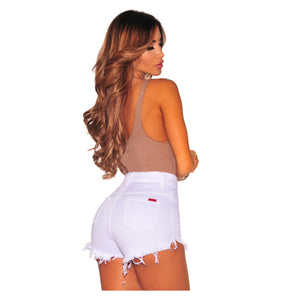 Aurora White Short