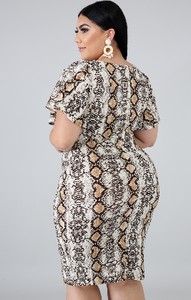 Angie Plus Size Dress