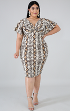 Load image into Gallery viewer, Angie Plus Size Dress
