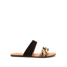 Load image into Gallery viewer, Tiger Suede Sandal
