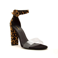 Load image into Gallery viewer, Vikki Leopard Heel