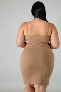 Stella Bodycon Plus Size Dress