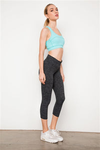 Grey Athletic Capri Legging