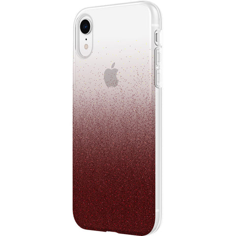 Shop INCIPIO DESIGN SERIES CLASSIC CASE FOR IPHONE XR - CRANBERRY SPARKLES Cases & Covers from Incipio