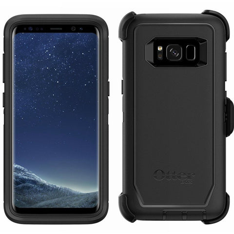 OTTERBOX DEFENDER RUGGED CASE FOR SAMSUNG GALAXY S8+ (6.2 inch) - BLACK