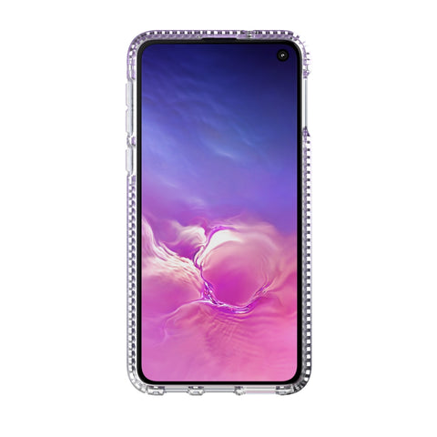 Shop TECH21 PURE SHIMMER CASE FOR SAMSUNG GALAXY S10E (5.8-INCH) - PINK Cases & Covers from TECH21