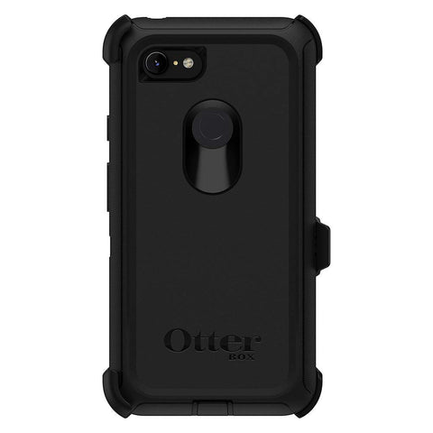 Shop OTTERBOX DEFENDER SCREENLESS EDITION RUGGED CASE FOR GOOGLE PIXEL 3 - BLACK Cases & Covers from Otterbox