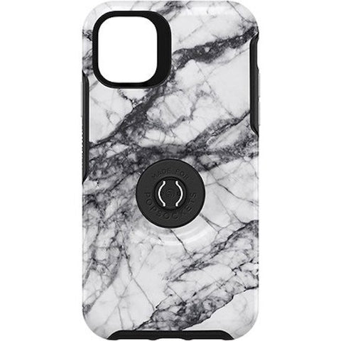"Shop Otterbox Otter + Pop Symmetry Case For iPhone 11 (6.1"") - White Marble Cases & Covers from Otterbox"