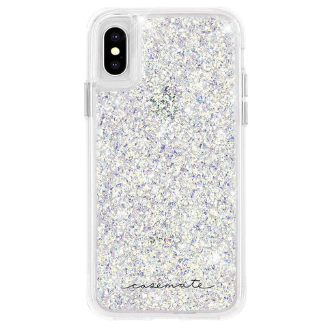 Shop CASEMATE TWINKLE GLITTER FOIL CASE FOR IPHONE XS MAX - STARDUST Cases & Covers from Casemate