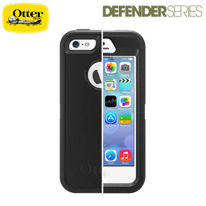 Shop OtterBox Defender Series for Apple iPhone 5S/5/SE - Black Cases & Covers from Otterbox
