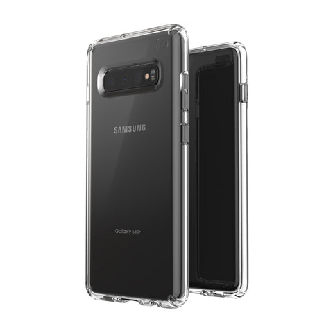 Shop SPECK PRESIDIO STAY CLEAR CASE SAMSUNG GALAXY S10 PLUS - CLEAR Cases & Covers from Speck