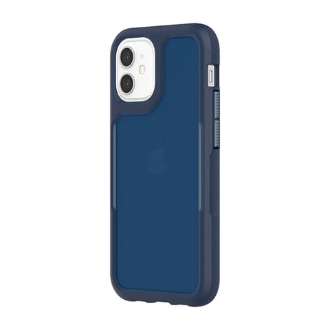 "GRIFFIN Survivor Endurance Case For iPhone 12 Mini (5.4"") - Navy/Flint Stone"