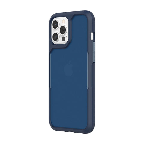 "GRIFFIN Survivor Endurance Case For iPhone 12 Pro Max (6.7"") - Navy/Flint Stone"