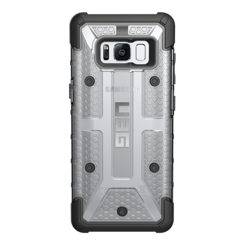 Shop UAG MILITARY ARMOR PLASMA CASE FOR GALAXY S8+ (6.2 inch) - ICE  from Syntricate Asia