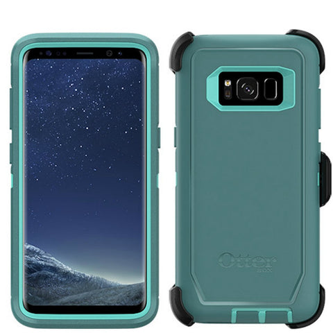 Shop OTTERBOX DEFENDER RUGGED CASE FOR SAMSUNG GALAXY S8+ (6.2 INCH) - AQUA MINT GREEN Cases & Covers from Otterbox