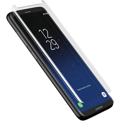Shop ZAGG INVISIBLESHIELD GLASS CURVED TEMPERED SCREEN PROTECTOR FOR SAMSUNG GALAXY S8+ (6.2 inch)  from Syntricate Asia