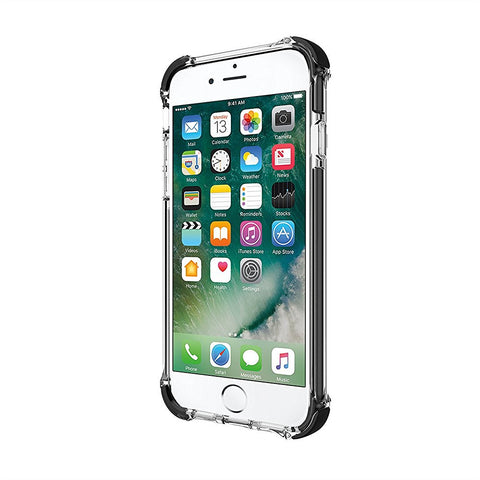 Shop Incipio Reprieve [Sport] Rugged Case for iPhone 7 - Clear/Black Cases & Covers from Incipio