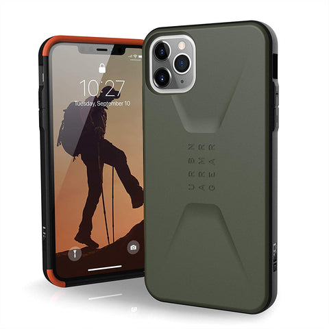 "Shop UAG Civilian HoneyComb Core Case for iPhone 11 Pro Max (6.5"") - Olive Drab Cases & Covers from UAG"