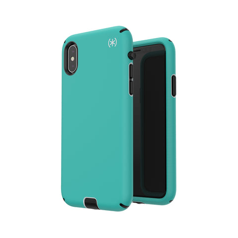 Shop SPECK PRESIDIO SPORT IMPACTIUM CASE FOR IPHONE XS/X - TEAL/BLACK  from Syntricate Asia