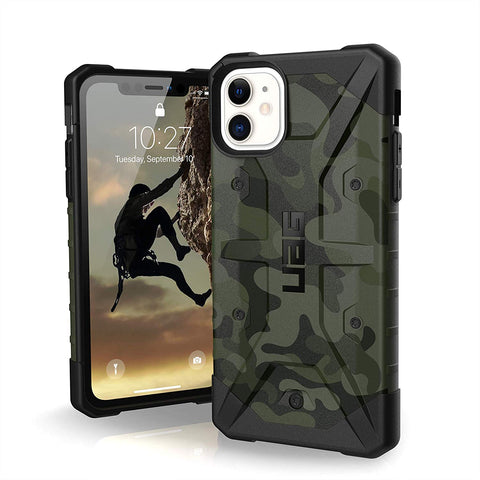 "Shop UAG Pathfinder SE Feather-Light Rugged Case iPhone 11 (6.1"") - Forest Camo Cases & Covers from UAG"