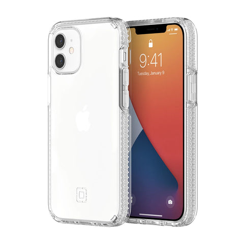 "INCIPIO DualPro Dual Layer Case For iPhone 12 Mini (5.4"") - Clear/Clear"