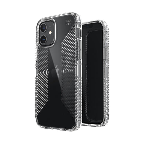 Looking for anti bacterial case with drop protection for your new iphone 12 mini. Get the latest SPECK Presidio Perfect-Clear with Grips Case. Now comes with free express shipping.