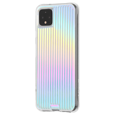 "Shop Case-Mate Tough Groove Case For Google Pixel 4 XL (6.3"") - Iridescent Cases & Covers from Casemate"