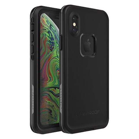 Shop LIFEPROOF FRE WATERPROOF CASE FOR IPHONE XS - BLACK (ASPHALT) Cases & Covers from Lifeproof
