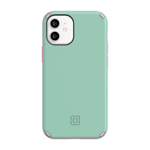 "INCIPIO DualPro Dual Layer Case For iPhone 12 Mini (5.4"") - Mint/Pink"