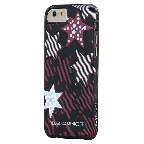 Shop CaseMate Rebecca Minkoff Tough Print Case for iPhone 6/6S - Striped Red Stars  from Syntricate Asia