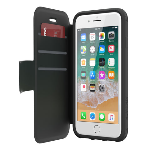 Shop GRIFFIN SURVIVOR STRONG WALLET CASE FOR iPHONE 8 PLUS/7 PLUS - BLACK Cases & Covers from Griffin