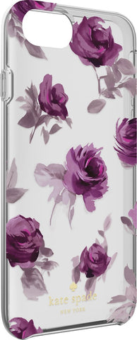 Shop Kate Spade New York Protective Hardshell Clear Case for iPhone 7 - Rose symphony Cases & Covers from Kate Spade New York