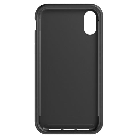 Shop TECH21 EVO LUXE FAUX LEATHER CASE FOR IPHONE XR - BLACK Cases & Covers from TECH21
