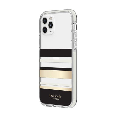 "KATE SPADE NEW YORK Hardshell Case for iPhone 11 Pro Max (6.5"") - Park Stripe"