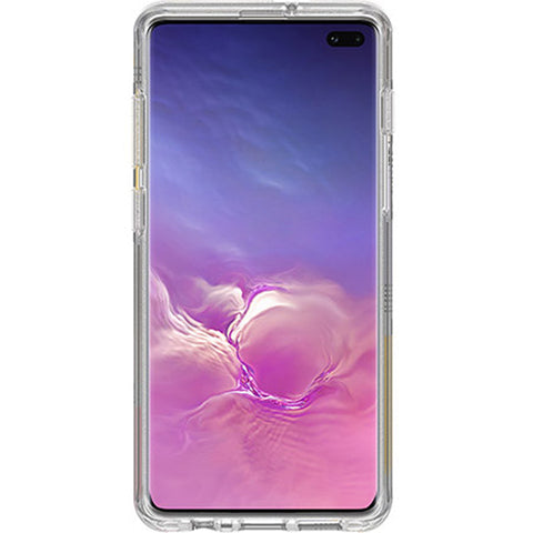 "Shop OTTERBOX Symmetry Clear Rugged Case For Galaxy S10 Plus (6.4"") - Love Traingle Cases & Covers from Otterbox"