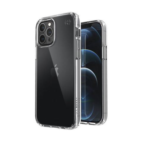 looking for clear case for your new iphone 12 pro max? choose speck clear rugged cas, shop online now at syntricate.