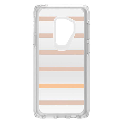 Shop OTTERBOX SYMMETRY CLEAR GRAPHICS CASE FOR SAMSUNG GALAXY S9 PLUS - INSIDE THE LINE Cases & Covers from Otterbox