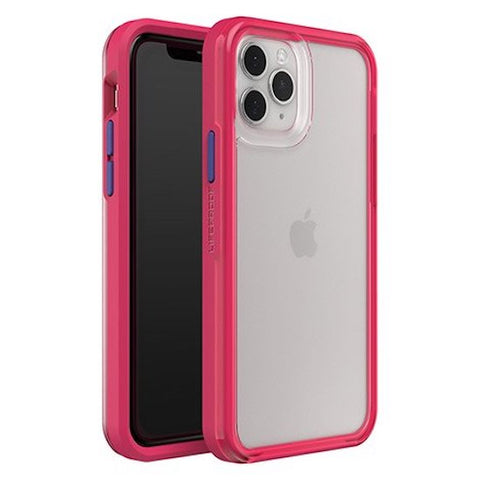"Shop LIFEPROOF Slam Ultra-Thin Rugged Case For iPhone 11 Pro Max (6.5"") - Clear/Pink/Blue Cases & Covers from Lifeproof"