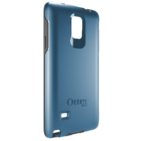 Shop OtterBox Symmetry Case suits Samsung Galaxy Note 4 - Deep Water Blue/Slate Grey Cases & Covers from Otterbox