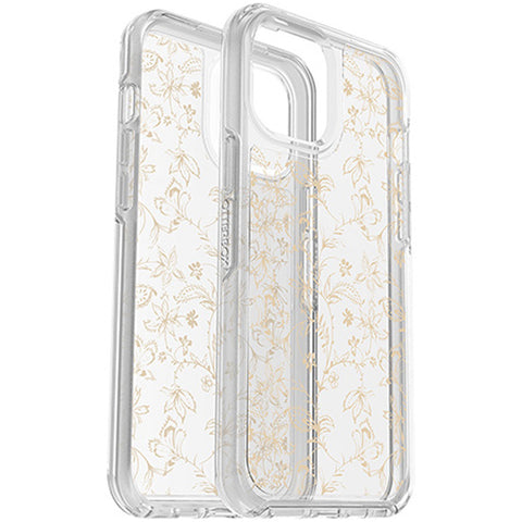best rugged case with drop protection for your iphone 12 pro max with gold flower to make it more elegant, shop online at syntricate.