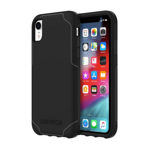Shop GRIFFIN SURVIVOR STRONG CASE FOR IPHONE XR - BLACK Cases & Covers from Griffin