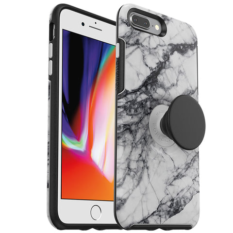 Shop OTTERBOX OTTER + POP SYMMETRY CASE FOR IPHONE 7 PLUS/8 PLUS - WHITE NEBULA Cases & Covers from Otterbox