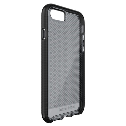 Shop Tech21 Evo Check Flexshock Case for iPhone 7 Plus - Smokey Black Cases & Covers from TECH21