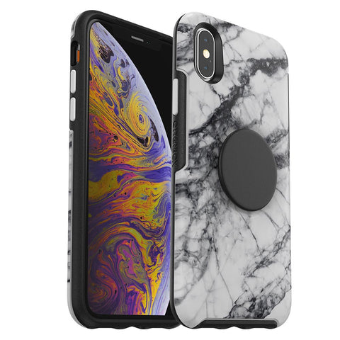 Shop OTTERBOX OTTER + POP SYMMETRY CASE FOR IPHONE X/XS - WHITE NEBULA  from Syntricate Asia