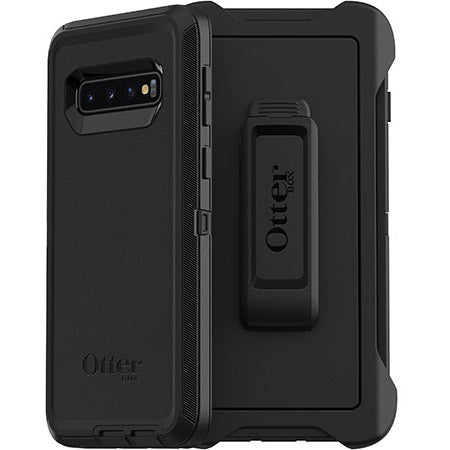Shop OTTERBOX DEFENDER SCREENLESS RUGGED CASE FOR SAMSUNG GALAXY S10 (6.1-INCH) - BLACK Cases & Covers from Otterbox
