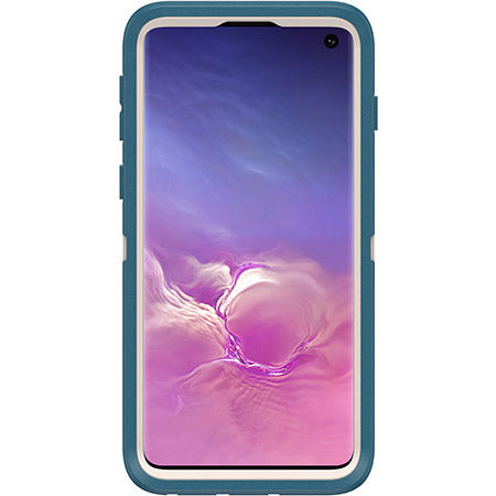 Shop OTTERBOX DEFENDER SCREENLESS RUGGED CASE FOR SAMSUNG GALAXY S10 (6.1-INCH) - BIG SUR BLUE Cases & Covers from Otterbox