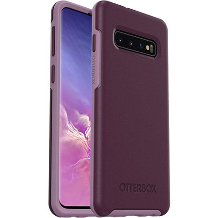 Shop OTTERBOX SYMMETRY SLIM CASE FOR GALAXY S10 (6.1-INCH) - TONIC VIOLET Cases & Covers from Otterbox