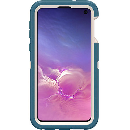 Shop OTTERBOX DEFENDER SCREENLESS RUGGED CASE FOR GALAXY S10E (5.8-INCH) - BIG SUR BLUE Cases & Covers from Otterbox